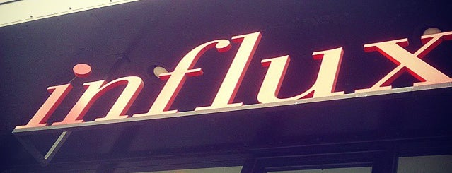 Influx is one of Downtown San Diego Coffee Spots.