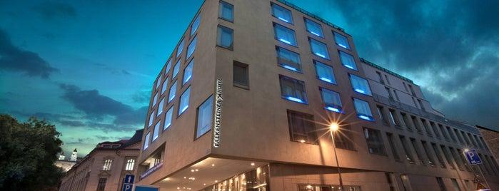 Falkensteiner Hotel Bratislava is one of TREND Top restaurants.