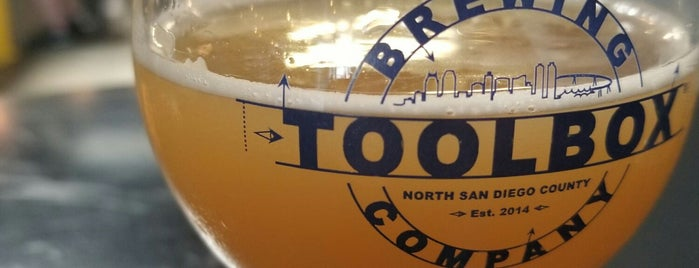 Toolbox Brewing Co. is one of LAS/LAX/SAN.
