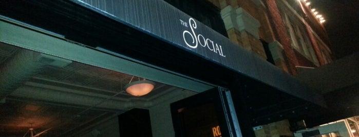 The Social Room is one of Favorite Nightlife Spots.