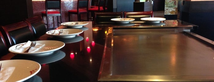 Saito's Japanese Steakhouse is one of Peewee's Big Ass South Florida Food Adventure!.