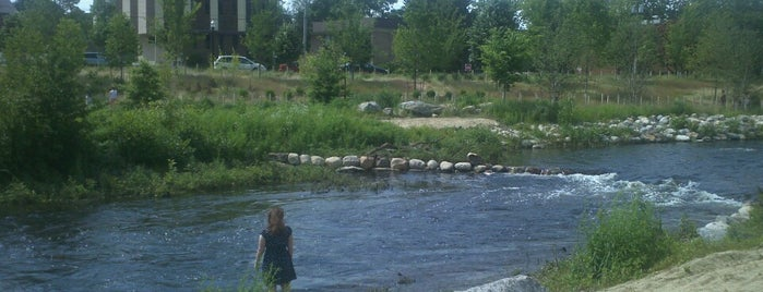 Mill River Park is one of app check!.