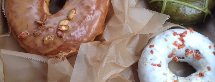 Doughnut Plant is one of to try.