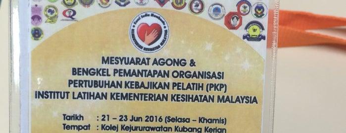 Kolej Kejururawatan Kota Bharu is one of Learning Centers,MY #5.
