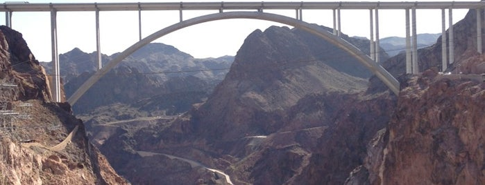 Hoover Dam is one of I spy with my 4sq eye.