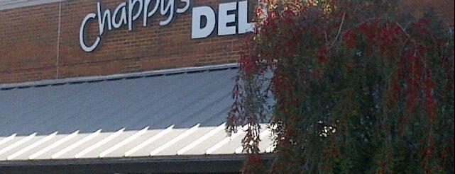 Chappy's Deli is one of big john likes.