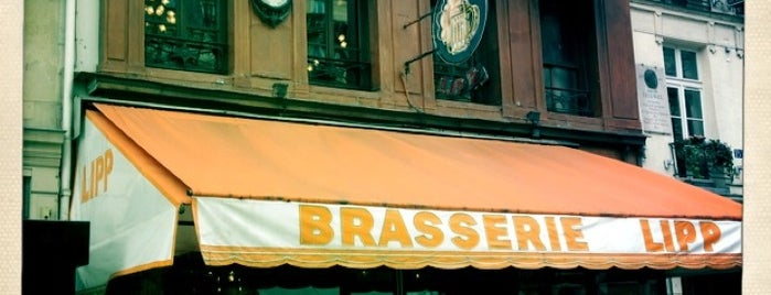Brasserie Lipp is one of Paris, FR.