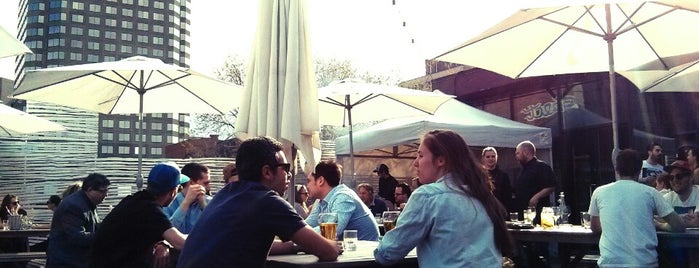 SAT FoodLab is one of Best Terrasses in Montreal.