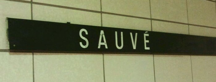 STM Station Sauvé is one of Montreal Metro.
