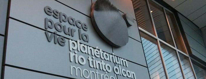 Planétarium Rio Tinto Alcan is one of Carte accès Montréal.