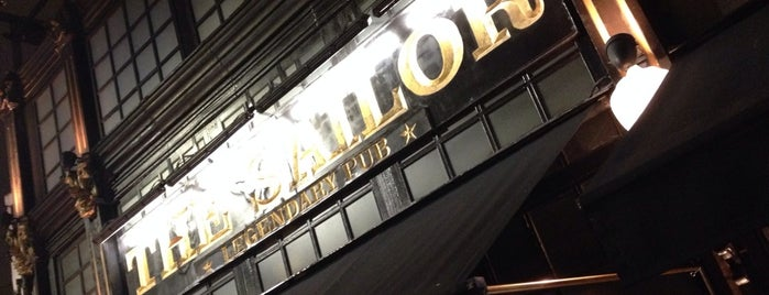The Sailor Legendary Pub is one of Lugares para ficar bebado em São Paulo.