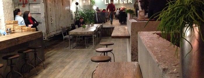 LUMBER gastro bar is one of Kharkiv.