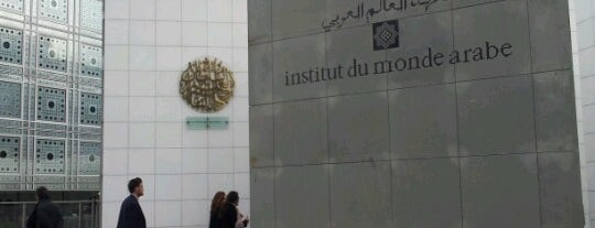 Institut du Monde Arabe is one of Paris.