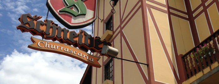Churrascaria Schneider is one of 20 favorite restaurants.