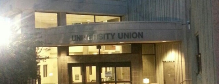 The University Union is one of SacState.