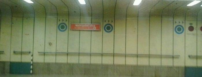 Gyöngyösi utca (M3) is one of Budapesti metrómegállók.