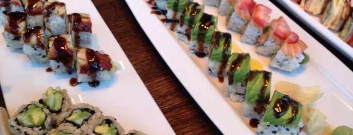 Sushi Rock is one of DC going out guide..