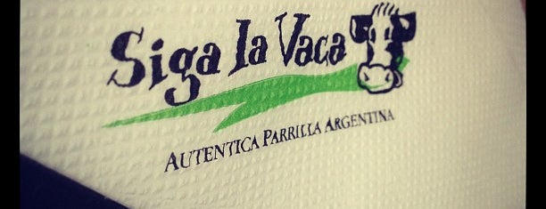 Siga La Vaca Express is one of Wifi en Buenos Aires.