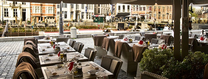 Restaurant De Graslei is one of Student van UGent.