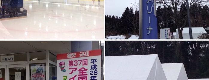 石鳥谷アイスアリーナ is one of スケートリンク.