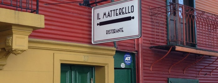 Il Matterello is one of Argentina/Uruguay - Julho 2012.