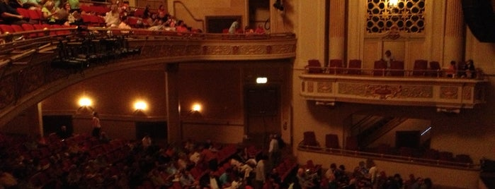 Saenger Theatre is one of Mobile Schlowbile.