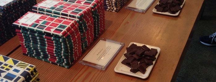 Mast Brothers Chocolate Factory is one of GEMS.