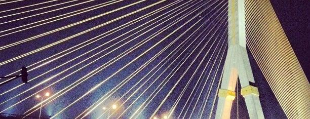 Rama VIII Bridge is one of Around Bangkok | ตะลอนทัวร์รอบกรุงฯ.