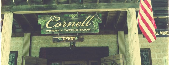 Cornell Winery & Tasting Room is one of Ventura Wineries.