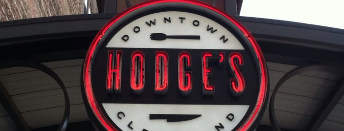 Hodge's is one of Enjoy Cleveland.