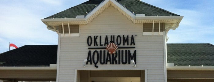 Oklahoma Aquarium is one of Tulsa To-Do.