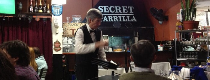 Secret Parrilla is one of Resto.