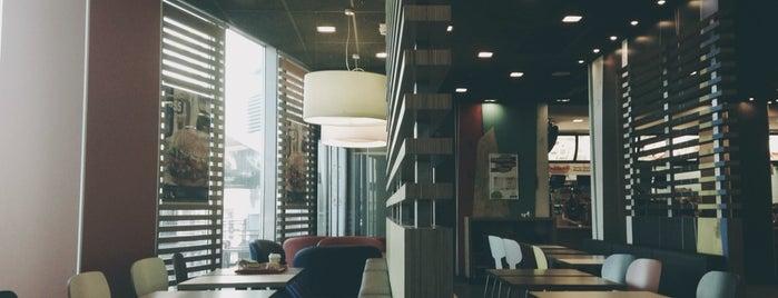 McDonald's is one of Съедобные места Серпухова.
