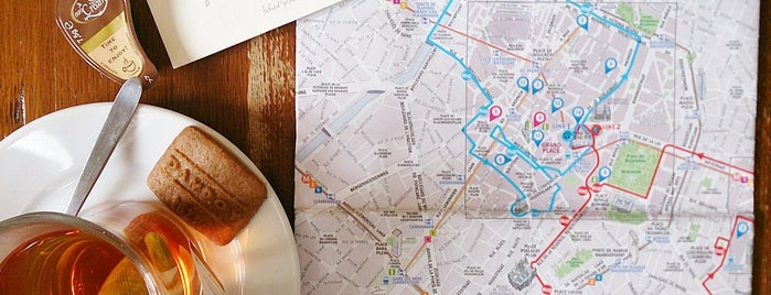 Maison Dandoy - Tearoom & Waffle is one of Brussels & Belgium.