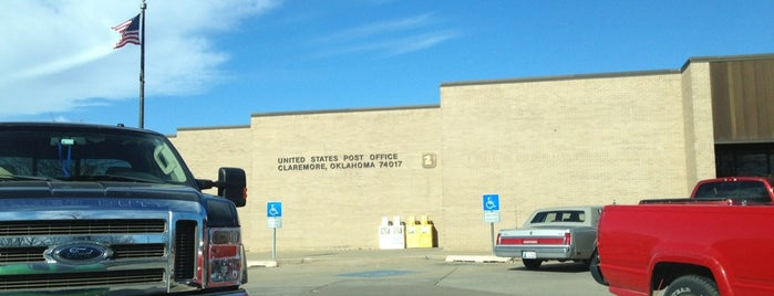 U.S. Post Office is one of Claremore.