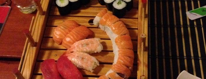 Saga Sushi is one of Restaurace.