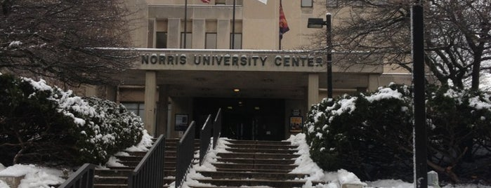Norris University Center is one of Equinox 2013.