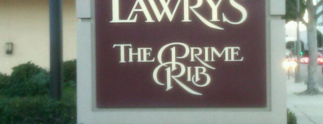 Lawry's The Prime Rib is one of Los Angeles.