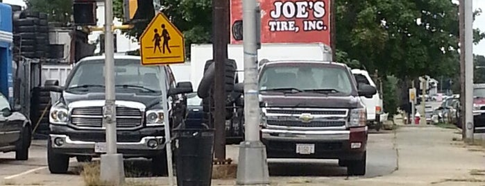 Joes Tire is one of Places.