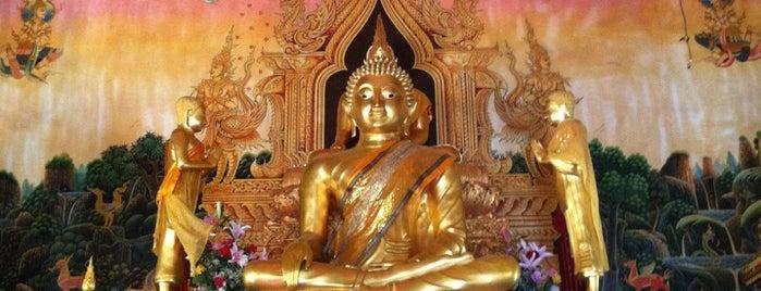วัดศรีพันต้น is one of ลำพูน, ลำปาง, แพร่, น่าน, อุตรดิตถ์.
