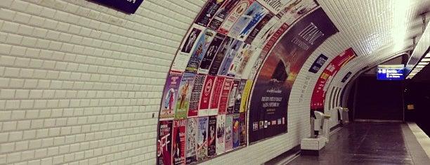 Métro Châtelet [1,4,7,11,14] is one of Stations de metro a Paris.