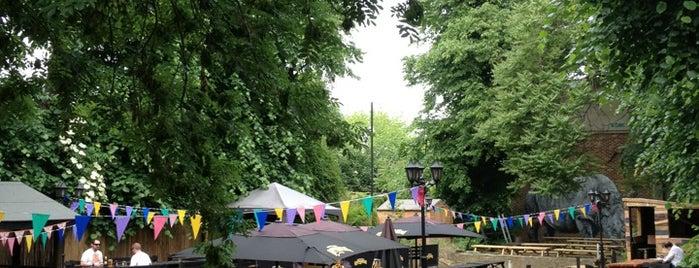 The Duke of Edinburgh is one of London's Best Beer Gardens.