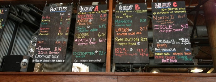 Greenbush Brewing Company is one of Chicagoland Breweries.