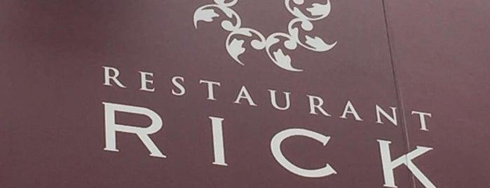 RESTAURANT RICK is one of Favorite Food.