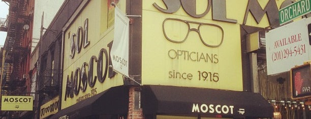 MOSCOT is one of best eyeglass stores for four eyed fun.