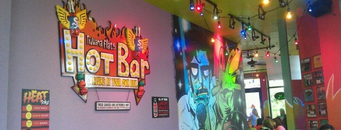 Tijuana Flats is one of Must-visit Fast Food Restaurants in St. Petersburg.