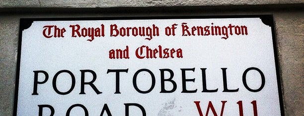 Portobello Road is one of Random places I love in London..