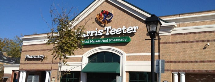 Harris Teeter is one of My Places of Interest.