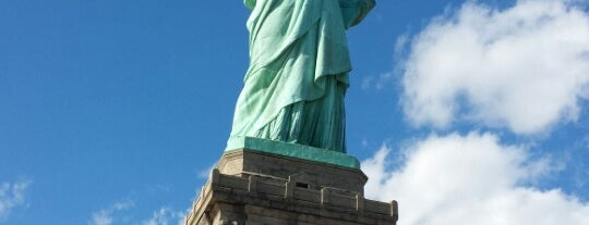Statue of Liberty is one of New York.