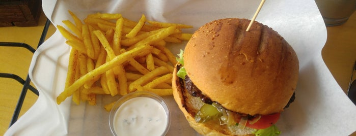 OBURİKS Home Made Burger is one of Ankara.